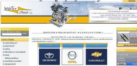Opel alkatrész webshop